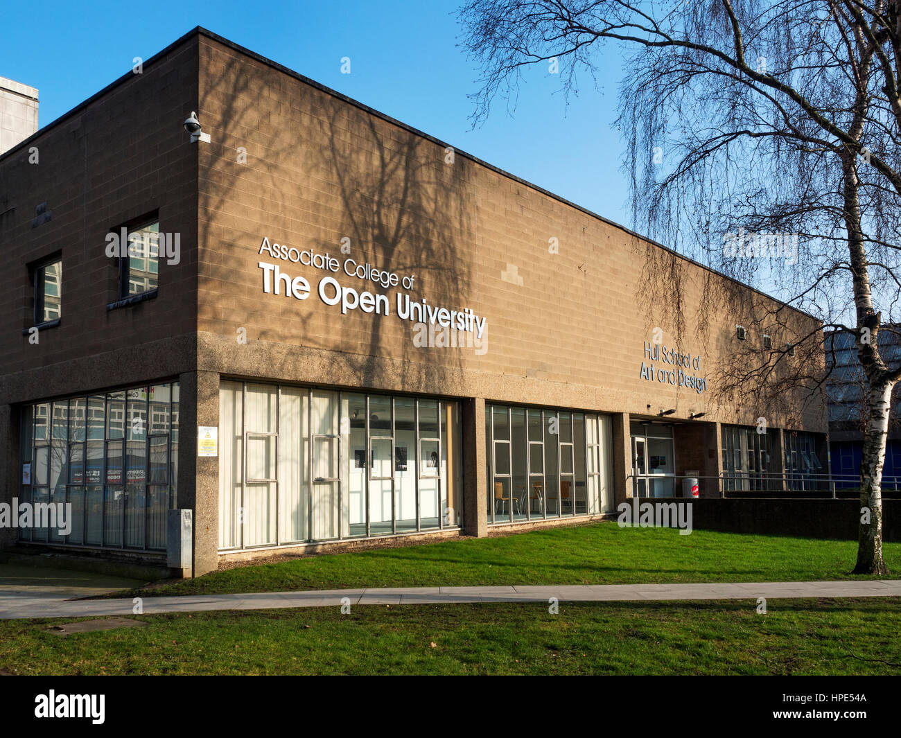 Hull School of Art and Design Associate College of the Open University Hull Yorkshire England - Stock Image