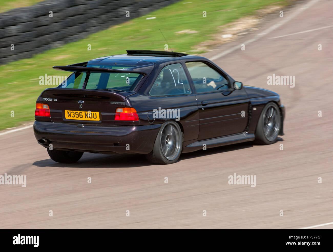 1995 mk5 ford escort cosworth stock image