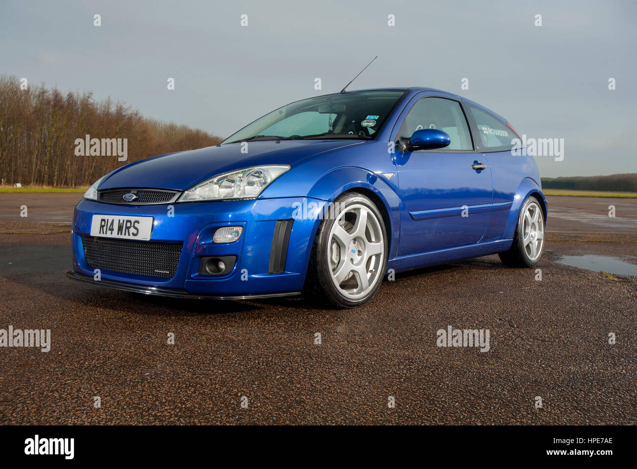 Mk1 Ford Focus Rs Hot Hatch Car Stock Photo 134308118 Alamy