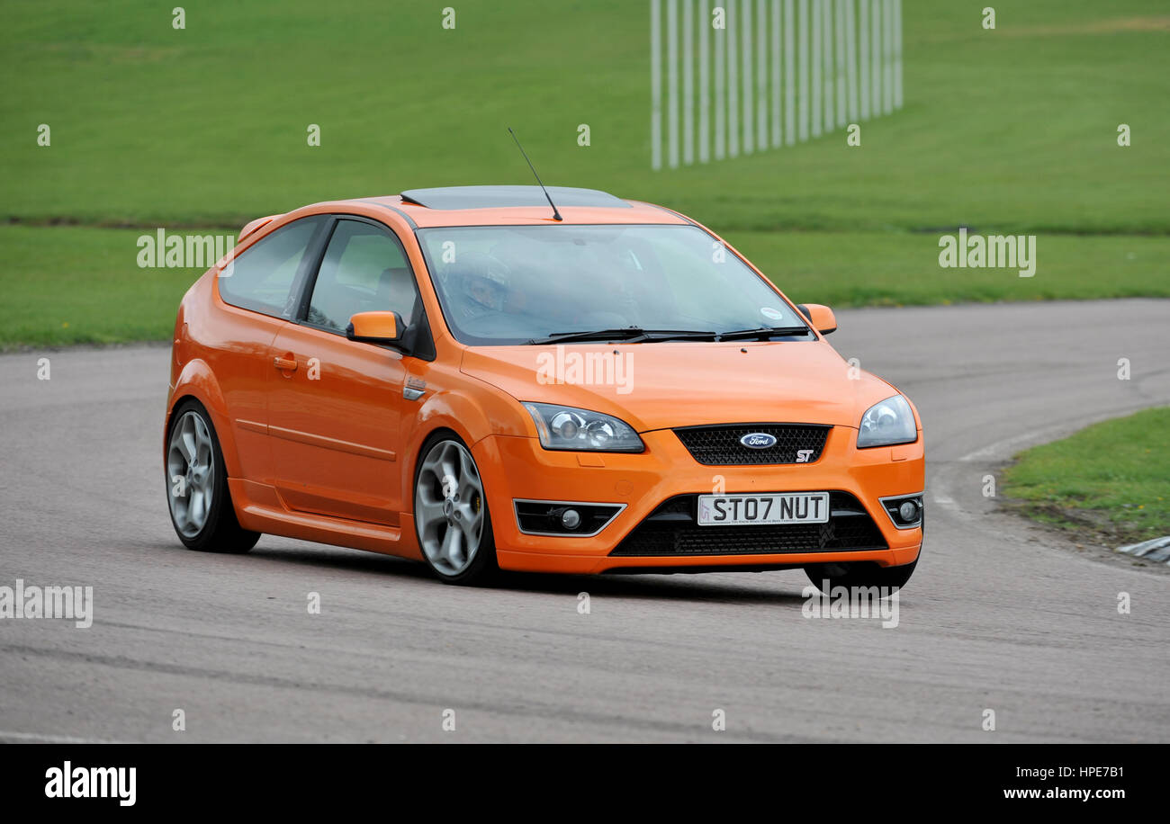 mk2 ford focus st hot hatch performance car stock photo. Black Bedroom Furniture Sets. Home Design Ideas
