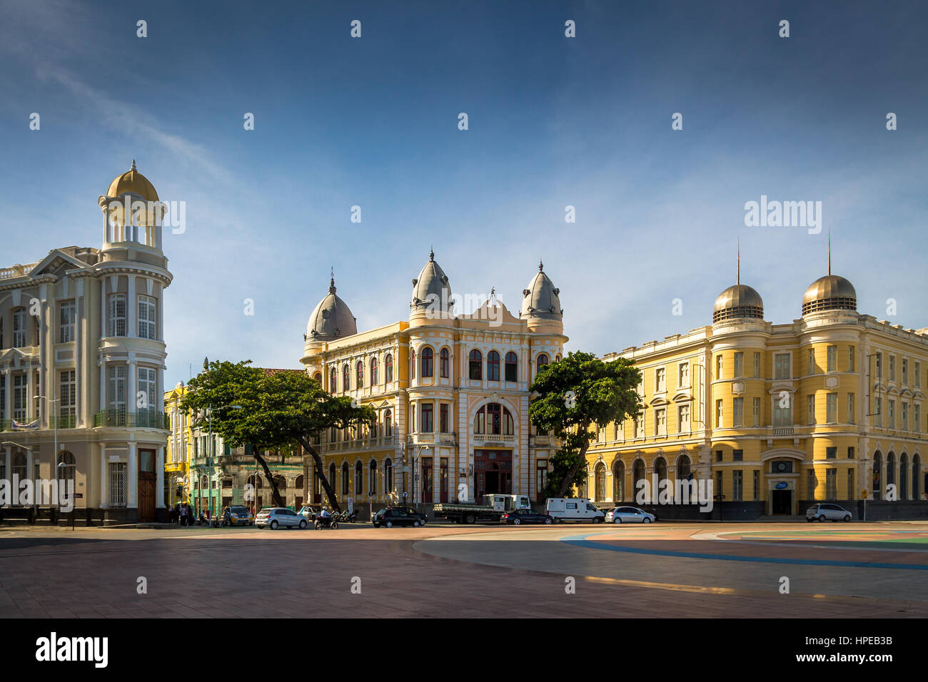 Historical Center of Recife City - Pernambuco, Brazil - Stock Image