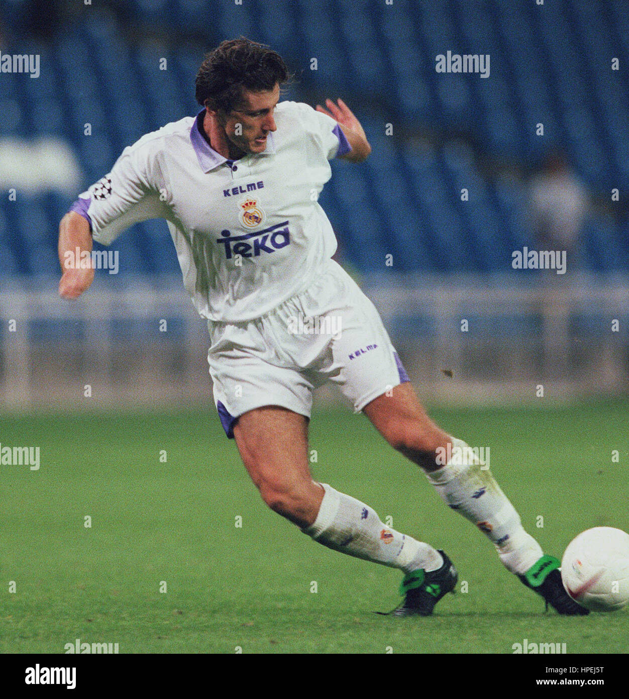 2dc420912 DAVOR SUKER REAL MADRID FC 15 October 1997 Stock Photo  134316612 ...