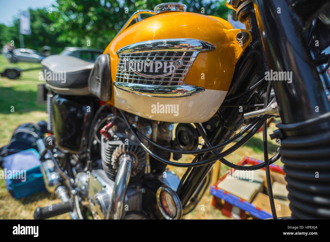 Triumph Bonneville Stock Photos Triumph Bonneville Stock Images