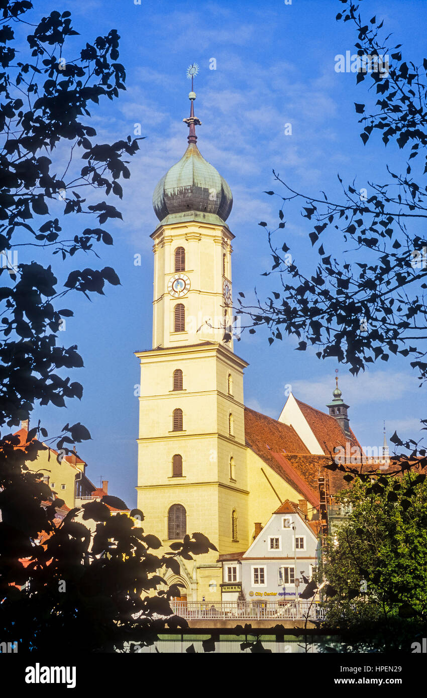 Franciscan Church, Graz, Austria - Stock Image