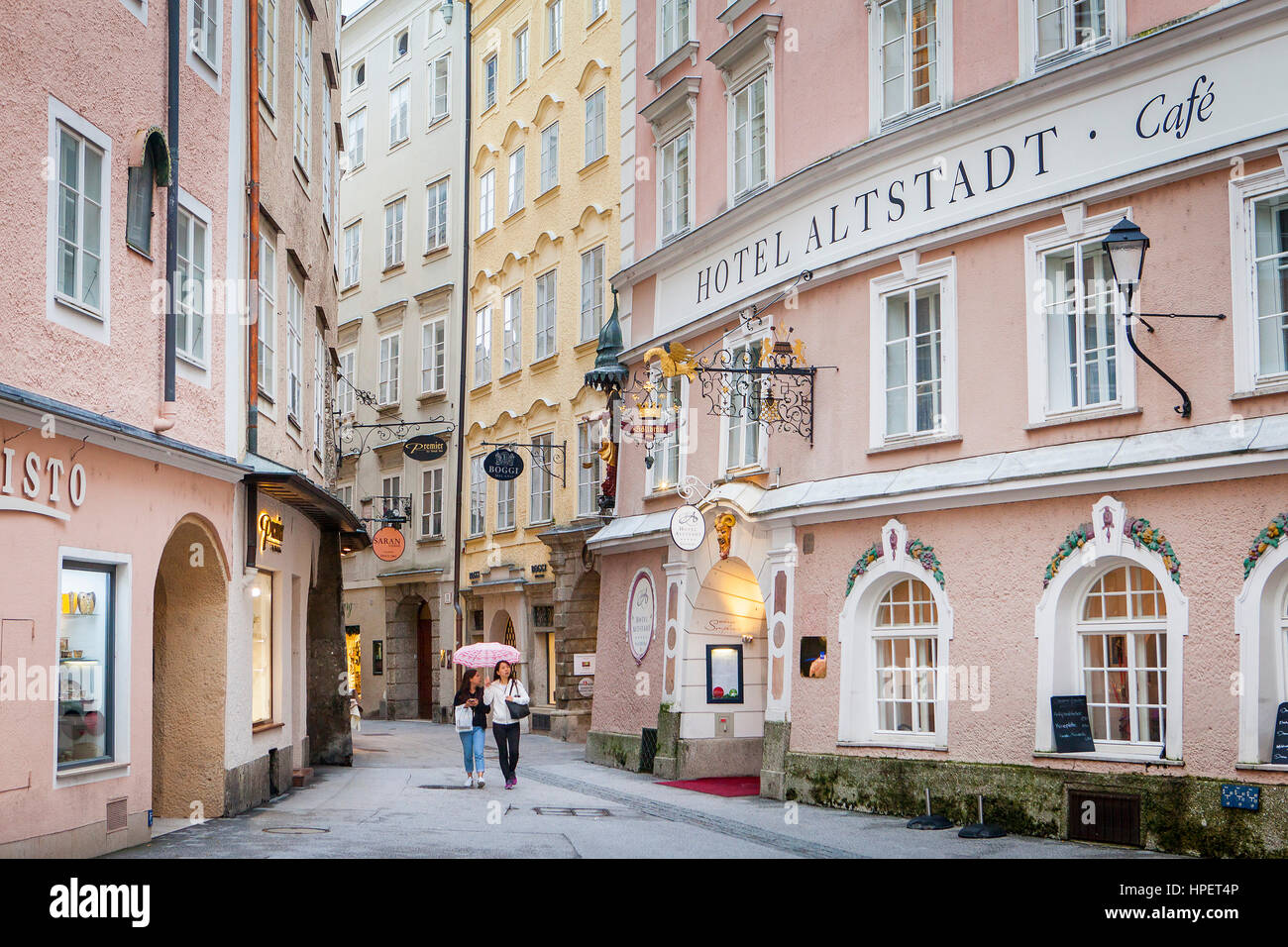 judengasse salzburg austria stock photos judengasse salzburg austria stock images alamy. Black Bedroom Furniture Sets. Home Design Ideas