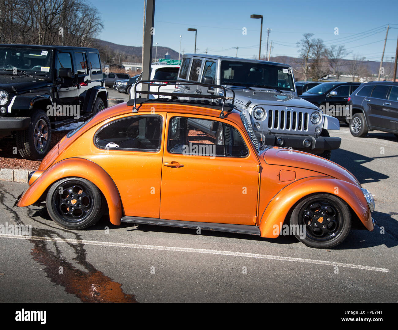 Customized Volkswagen Beetle High Resolution Stock Photography And Images Alamy