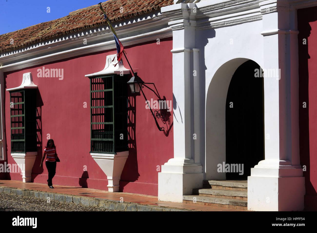 February 17, 2017 - Santa Ana  De Coro, Falcon, Venezuela - La ciudad de Santa Ana de Coro, mejor conocida como Stock Photo