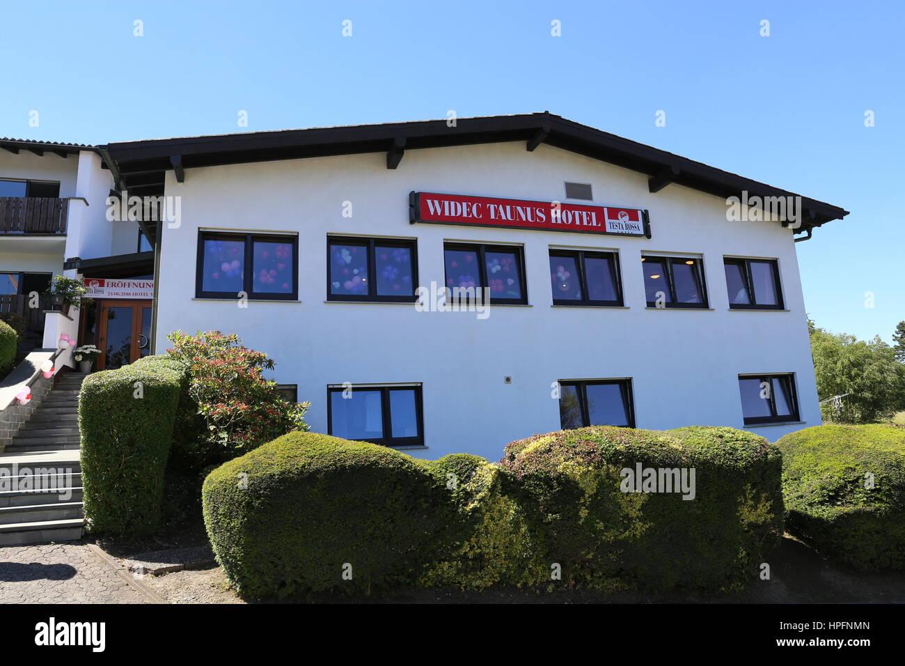 WIDEC Taunushotel in Schmitten-Arnoldshain (Germany) during its opening on 23 June 2016.   usage worldwide Stock Photo