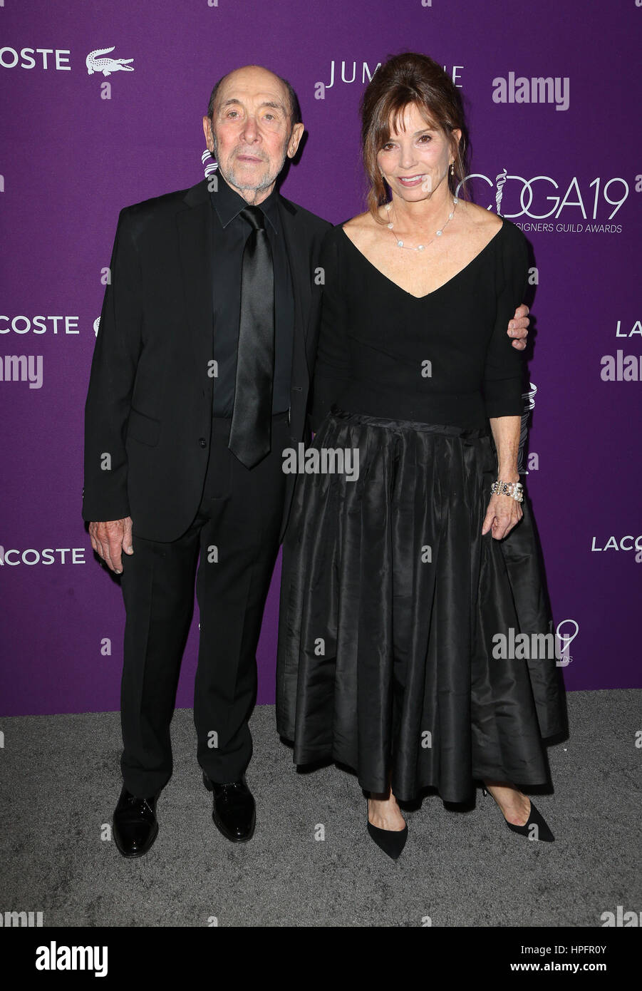 Beverly Hills, CA. 21st Feb, 2017. Albert Wolsky, Susan Hall, At 19th CDGA (Costume Designers Guild Awards), At - Stock Image