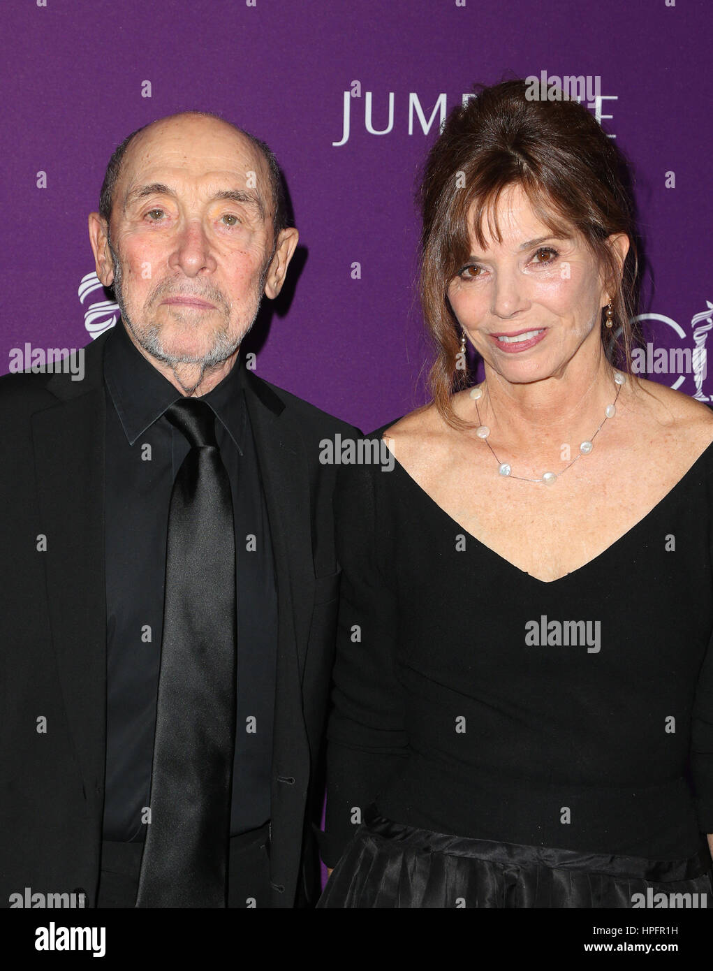 Beverly Hills, CA. 21st Feb, 2017. Albert Wolsky, Susan Hall, At 19th CDGA (Costume Designers Guild Awards), At Stock Photo
