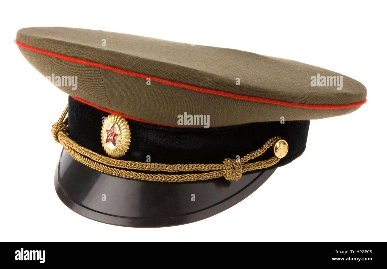 f841c7ce1 Russian military cap Stock Photo: 134363832 - Alamy