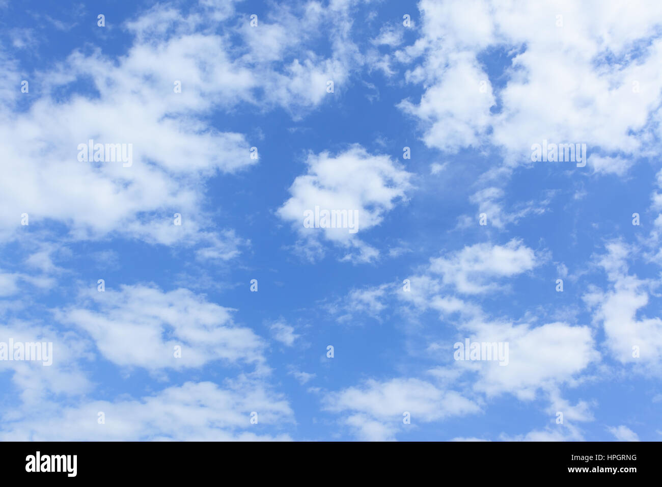 Blue sky and clouds - may be used as background Stock Photo