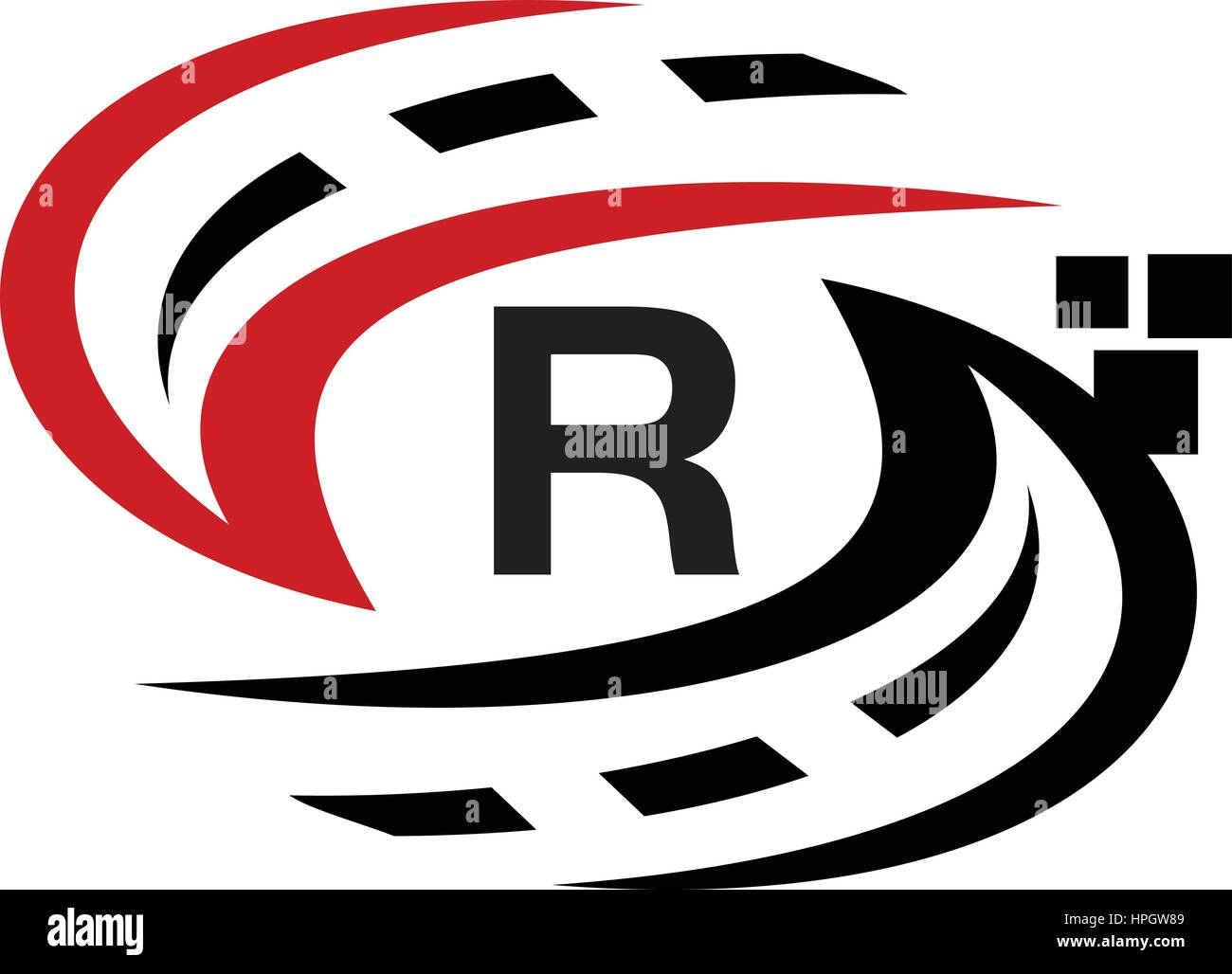 Applications Solutions Synergy Comprehensive Initial R Stock Vector