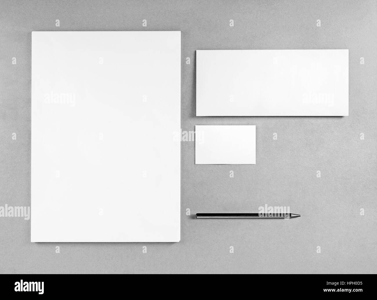 Clean simple modern business card template stock vector (royalty.