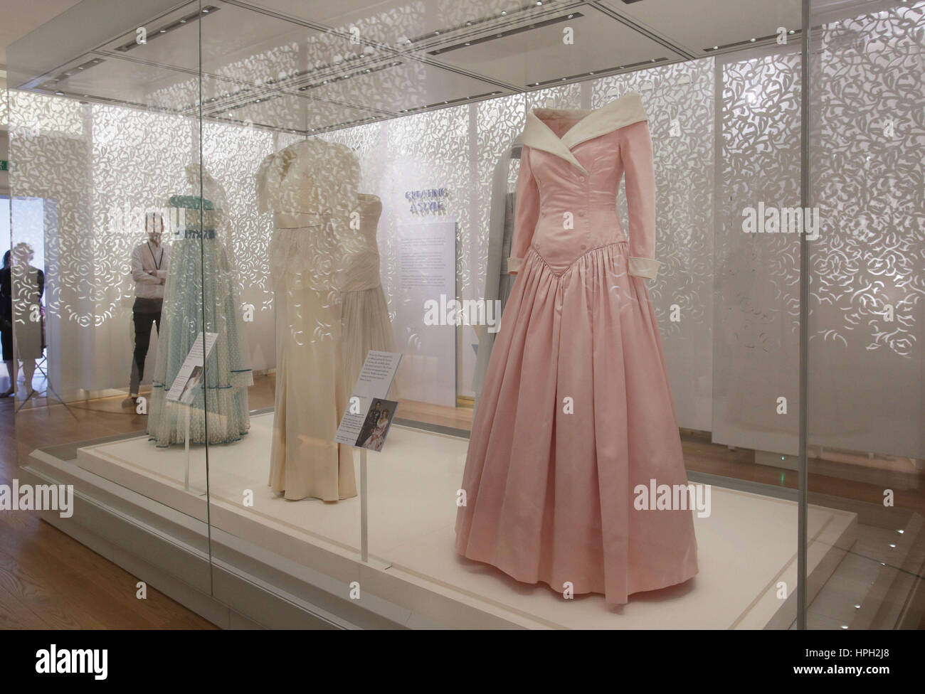 Dresses At The Preview Of Diana Her Fashion Story Exhibition At Stock Photo Alamy