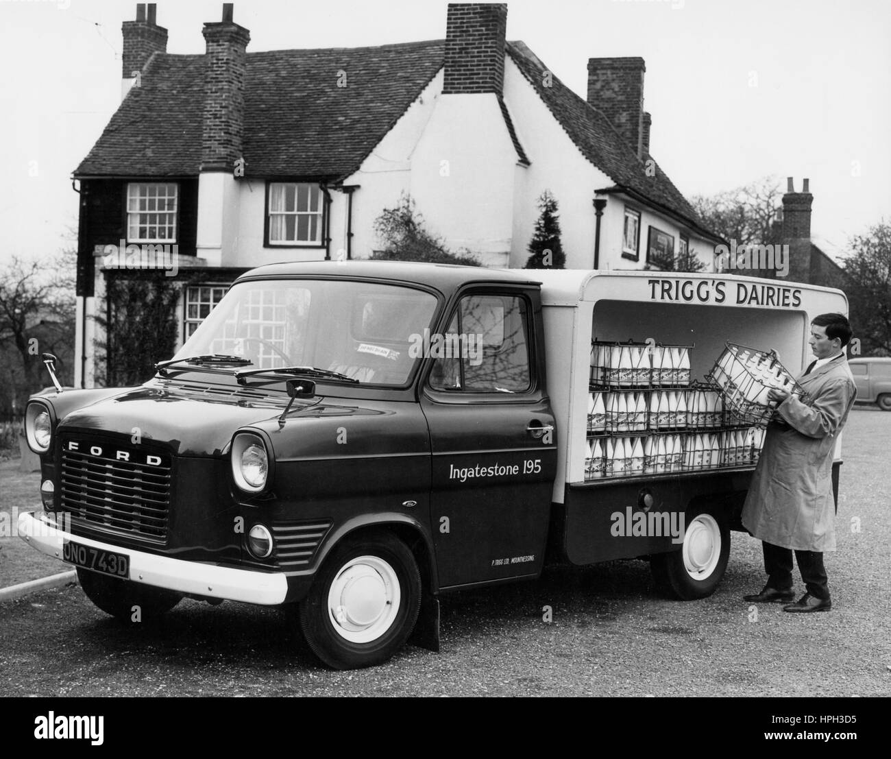 Milk Float Stock Photos Amp Milk Float Stock Images Alamy