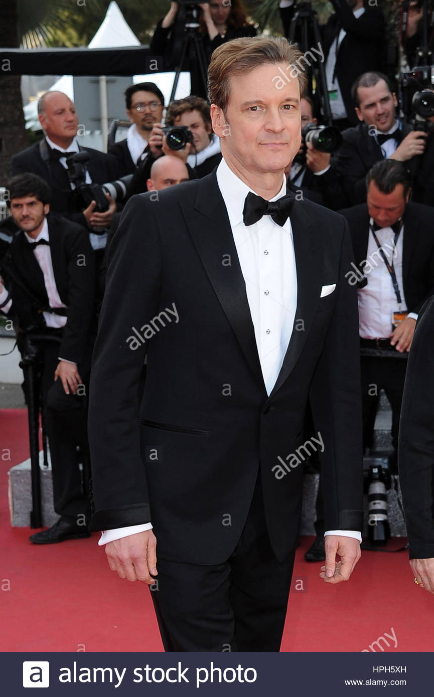 Colin Firth - Stock Image