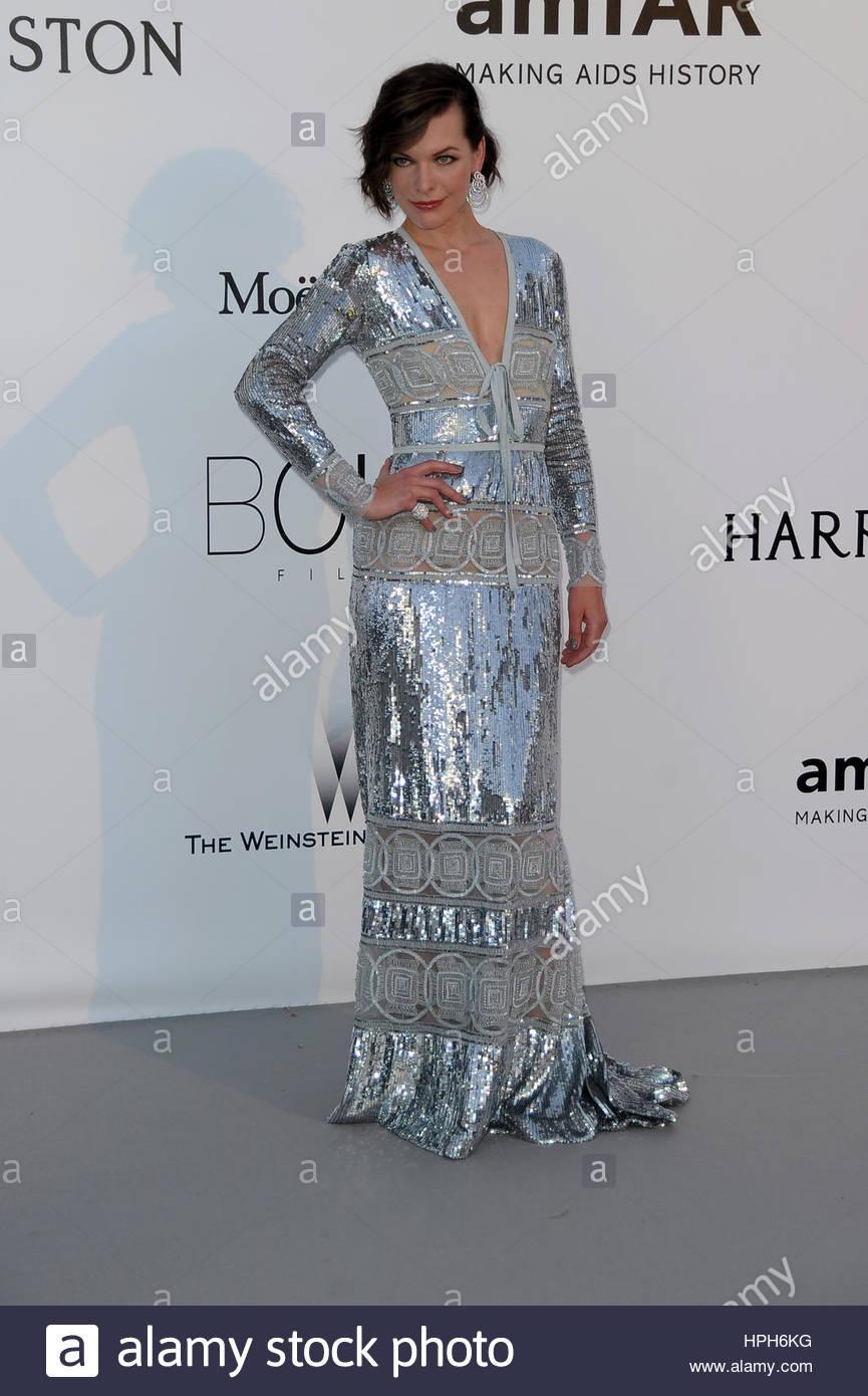Milla Jovovich milano 20-05-2016 - Stock Image