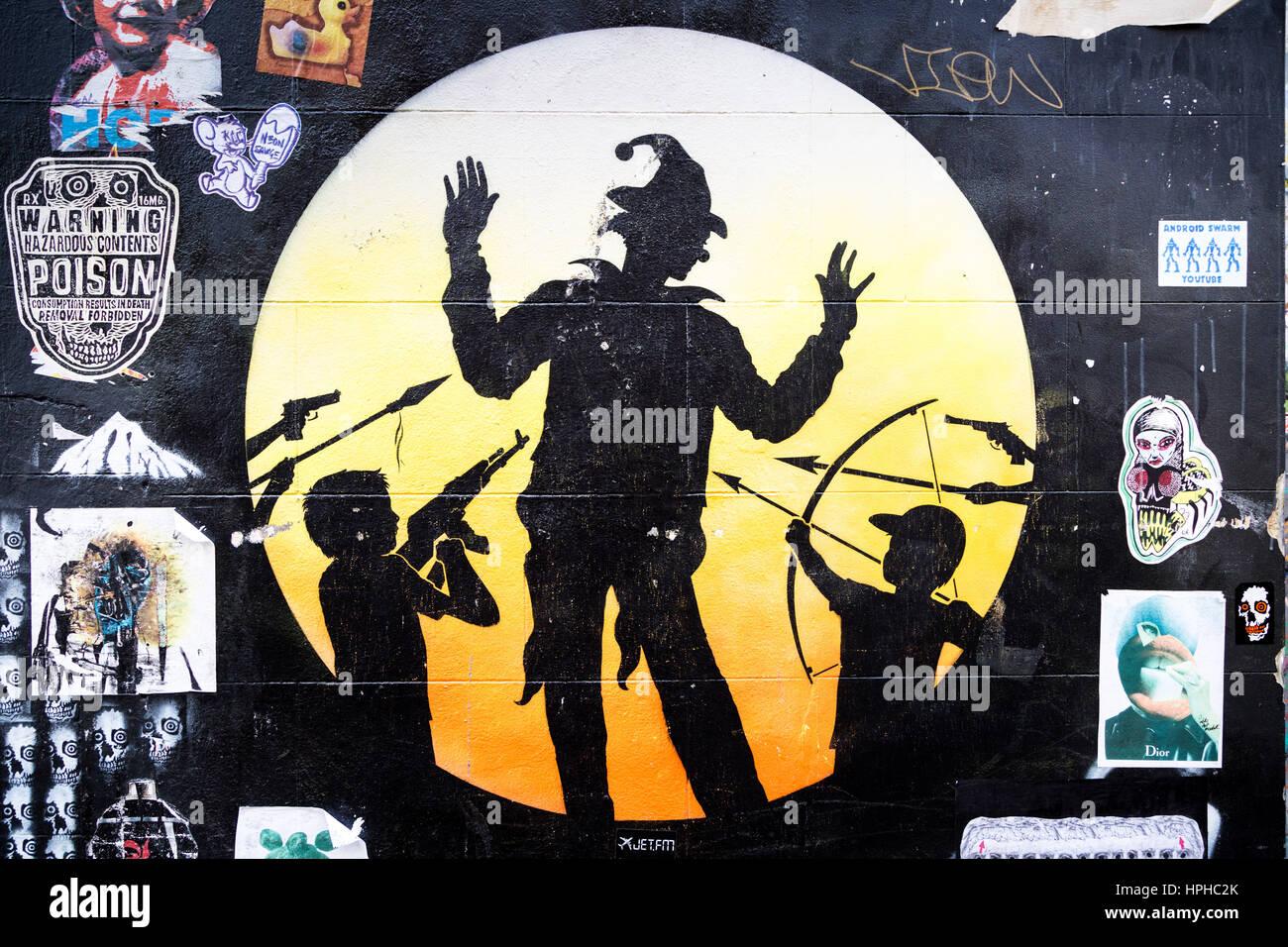 Shoreditch And Brick Lane Creative Graffiti And Social Art In East