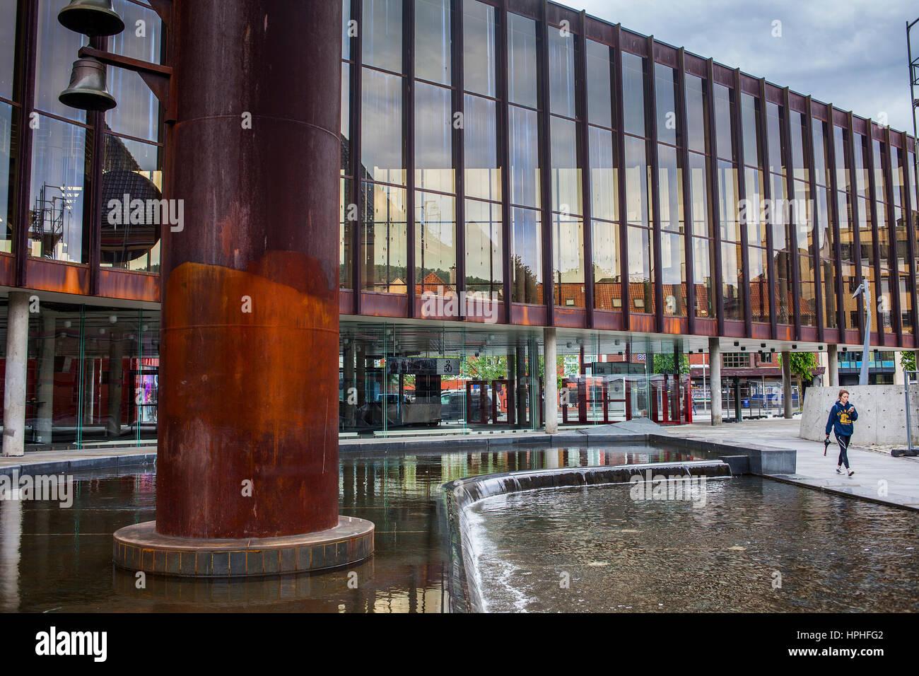 Grieghallen, Bergen, Norway - Stock Image