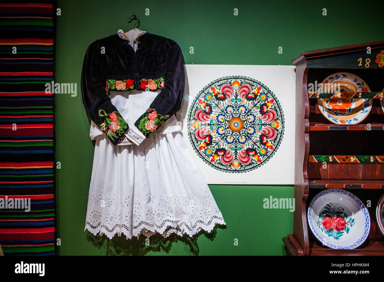 Traditional museum,in Granaries, Bydgoszcz, Poland. Stock Photo