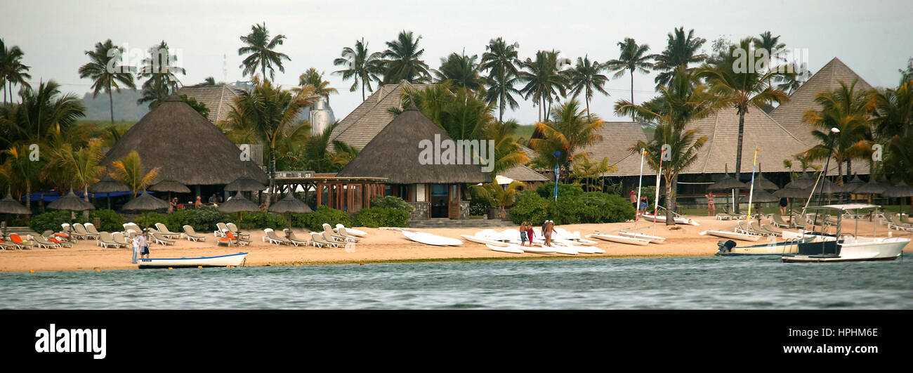 Mauritius, Heritage Hotel, Luxury hotel, Mauritius, Heritage Golf & Spa Resort, Bel Ombre - Stock Image