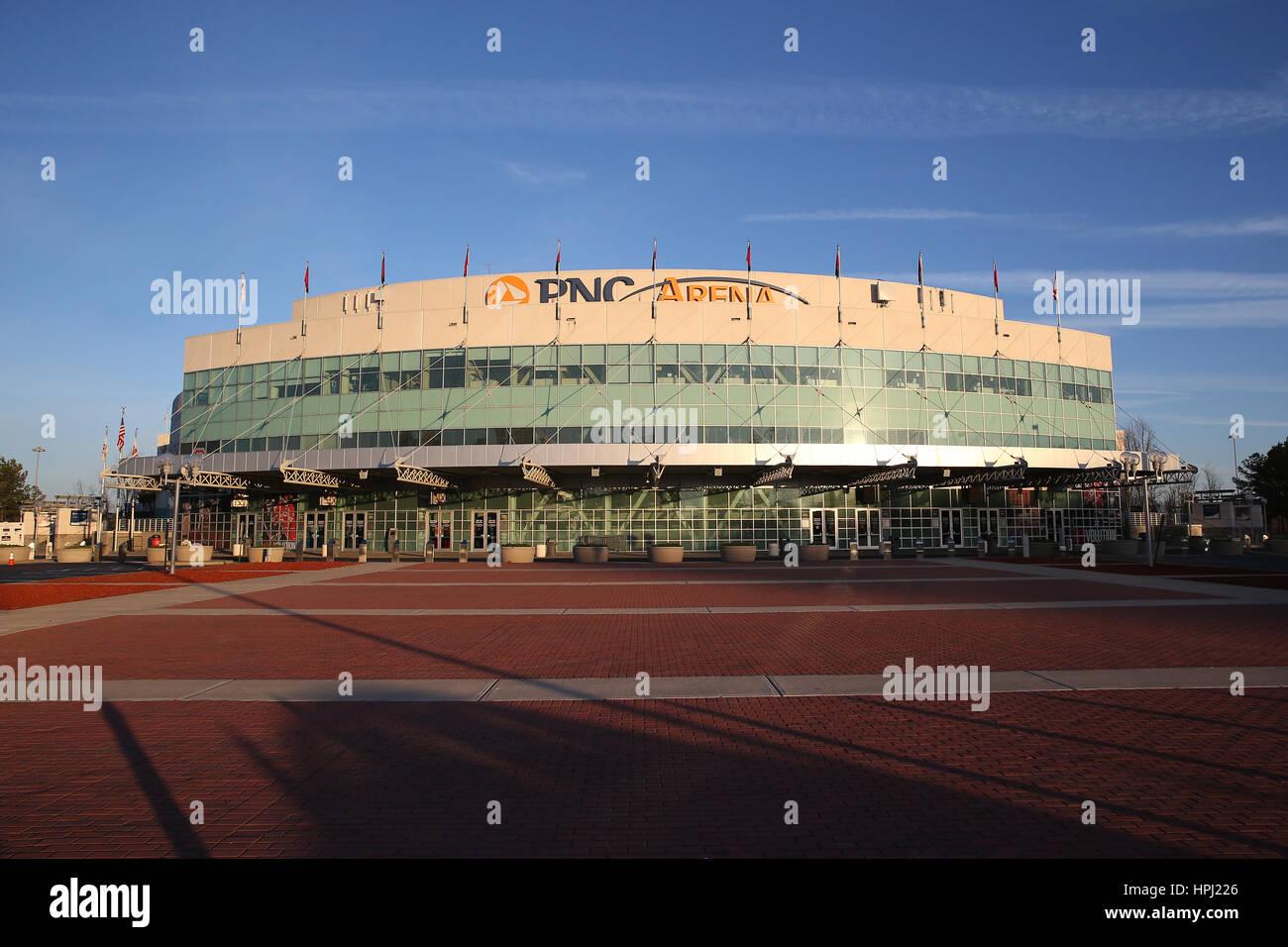 PNC Arena - Carolina Hurricanes - Stock Image