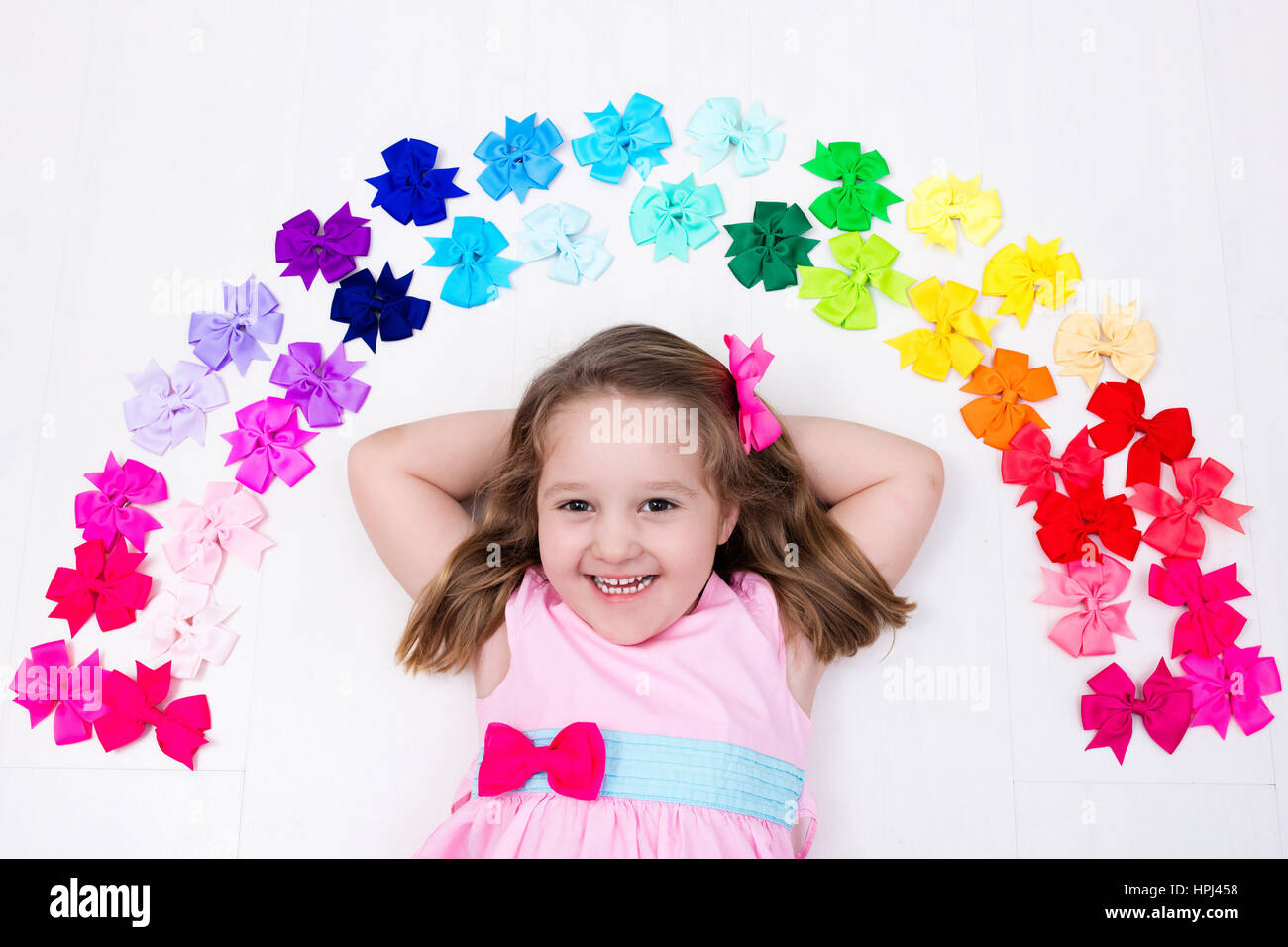 Red Bows In Hair Stock Photos Red Bows In Hair Stock Images Alamy