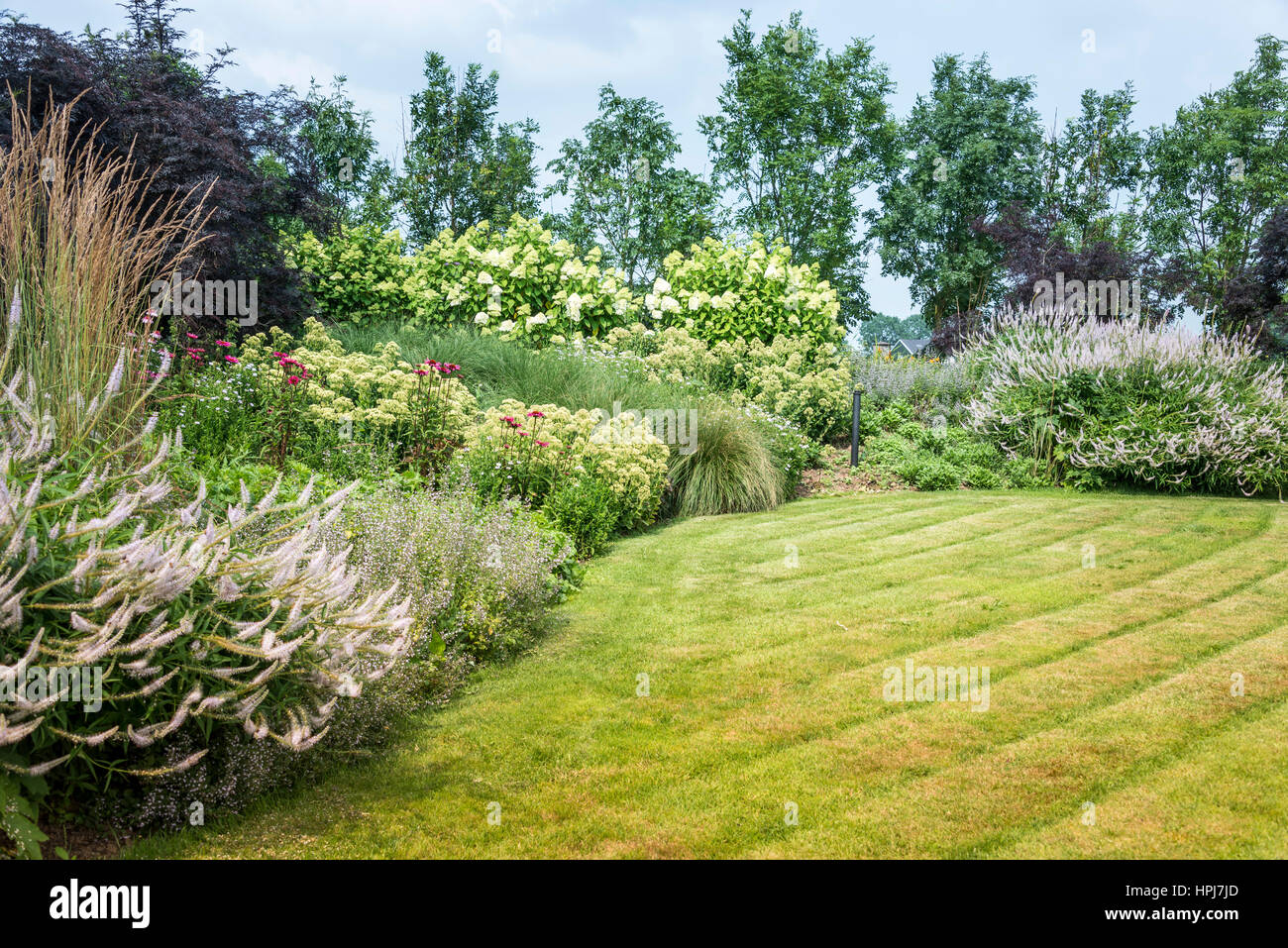 Big english landscape garden with plants trees and flowers in summer big english landscape garden with plants trees and flowers in summer workwithnaturefo