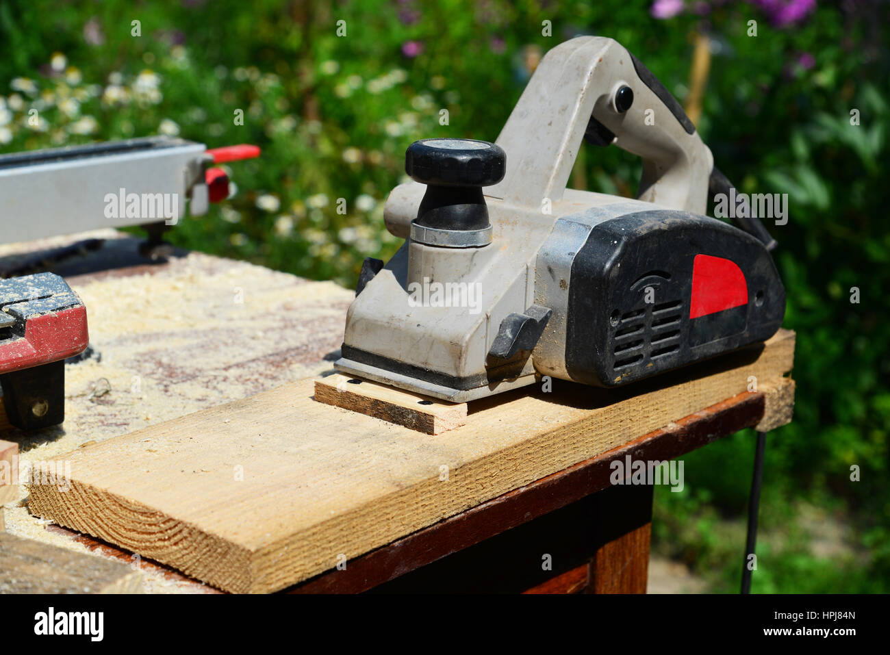 Electric Planer Stock Photos Images Alamy What Does An Do Is On The Board Nature Image