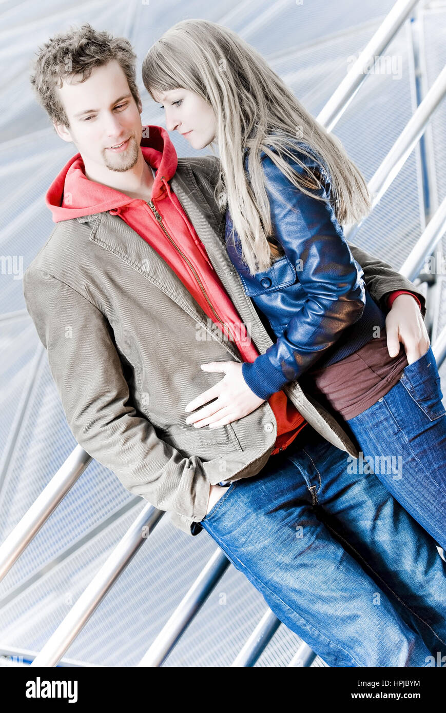 Model released , Junges Paar - young couple Stock Photo