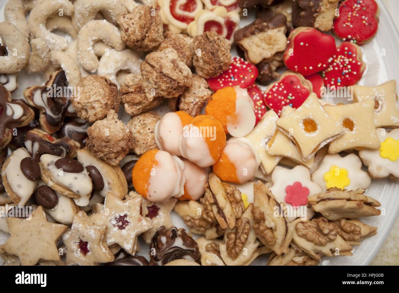 Kekse - cookies Stock Photo
