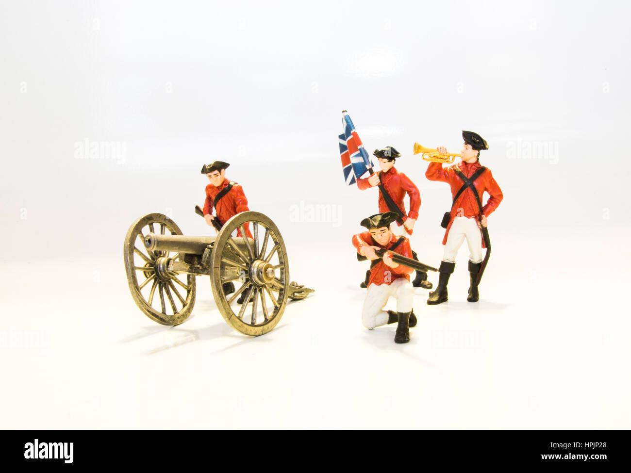 British army toys - Stock Image