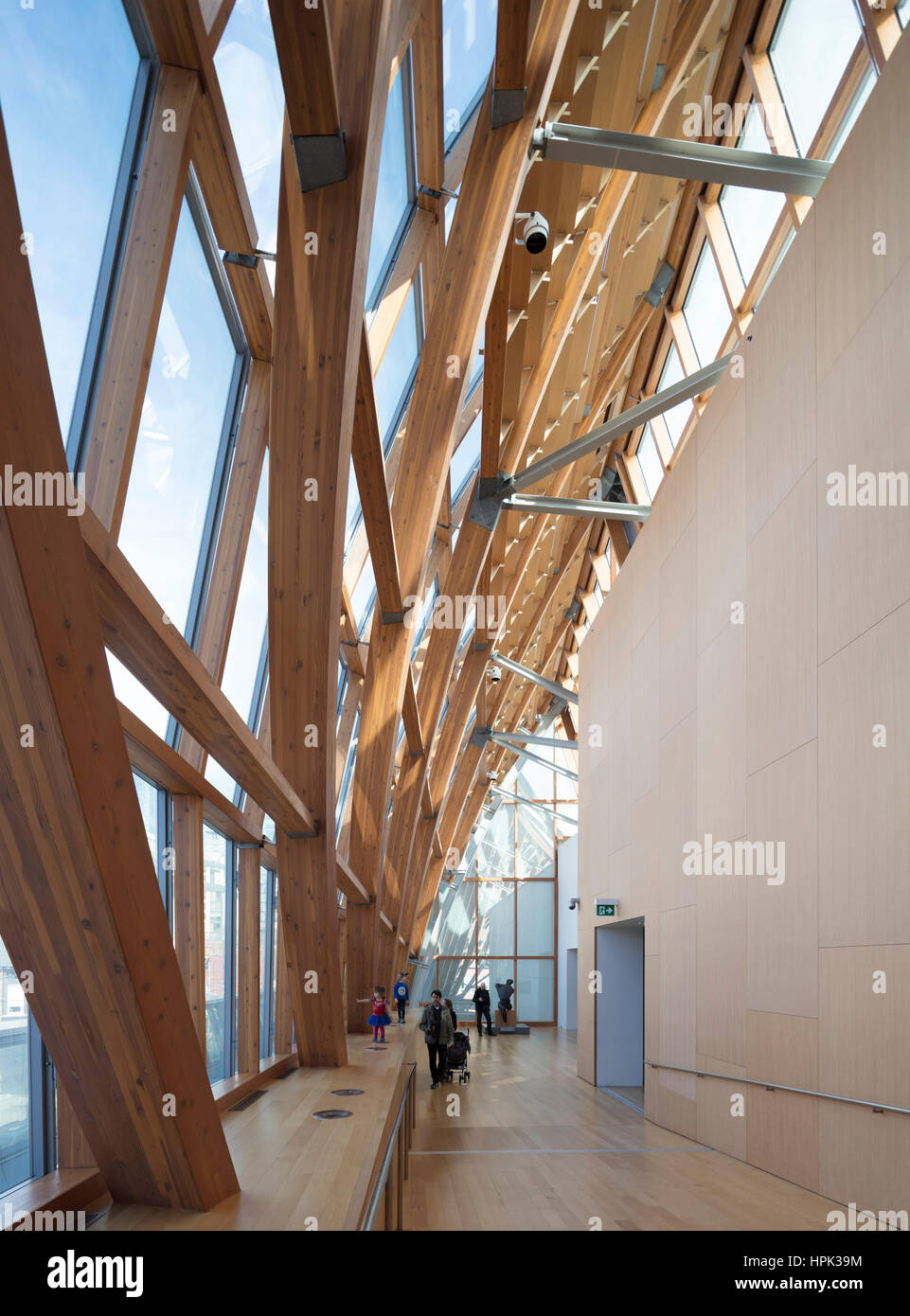 Frank Gehry addition to the Art Gallery of Ontario - Stock Image