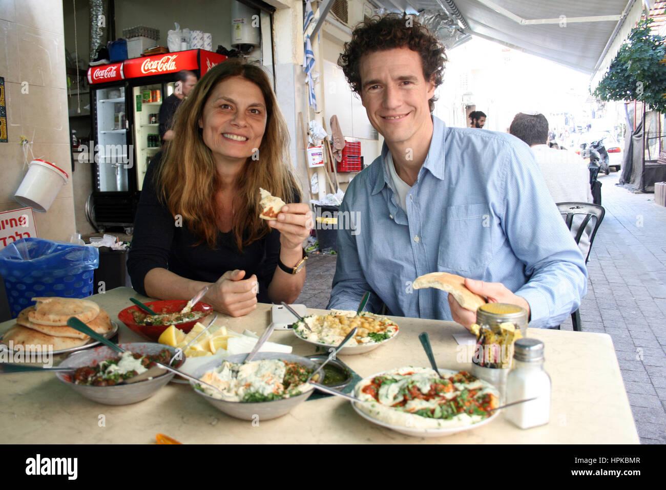 Tom Franz tel aviv 23rd feb 2017 austrian tv chef wiener and