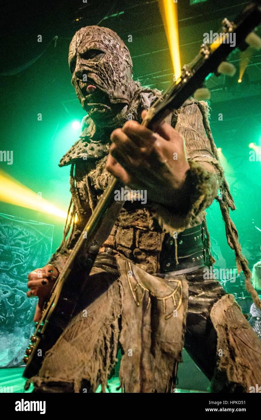 February 22, 2017 - Finnish hard rock/heavy metal band LORDI