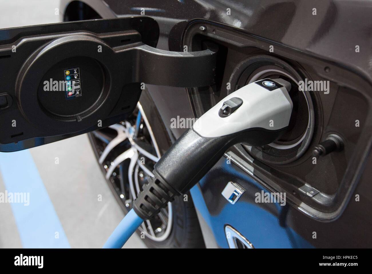 Toronto Ontario Canada 22nd Feb 2017 An Electric Charger On An