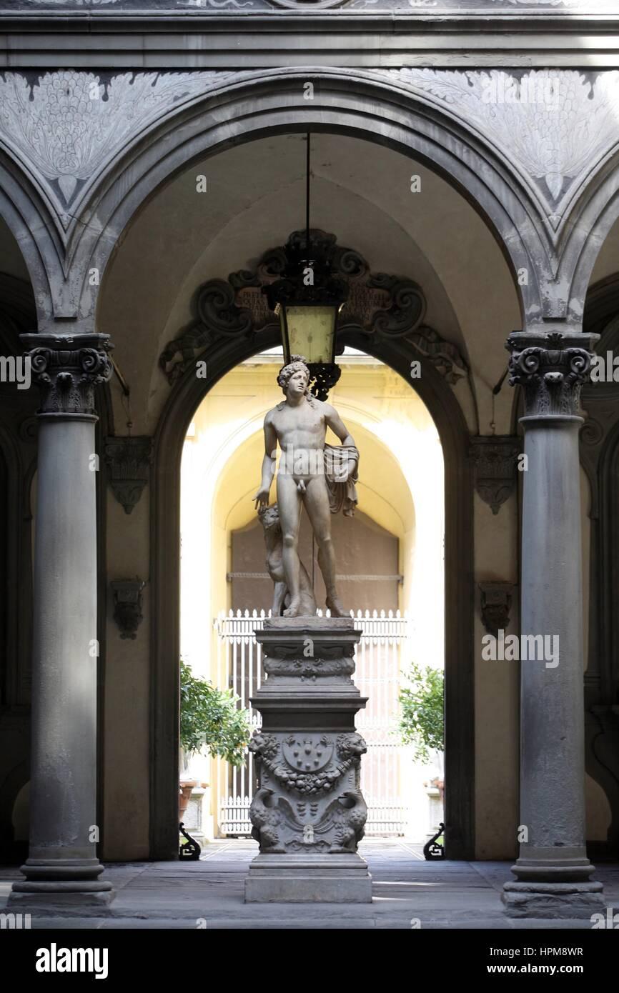 Palace Medici Riccardi, Florence, Tuscany, Italy    Credit © Gazia-Ruggeri/Sintesi/Alamy Stock Photo - Stock Image