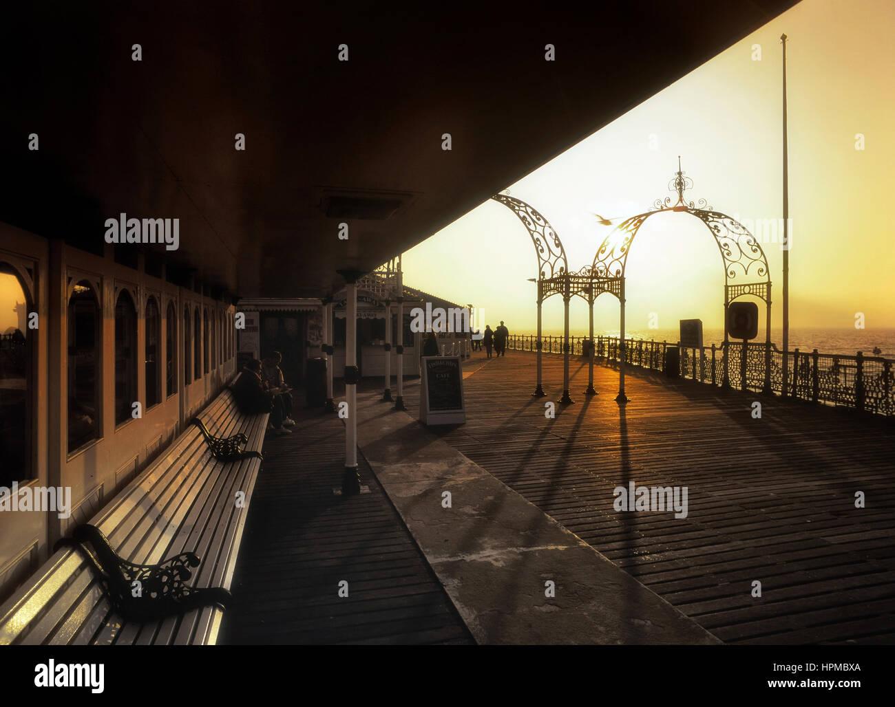 Palace pier. Brighton. Sussex. England. UK - Stock Image