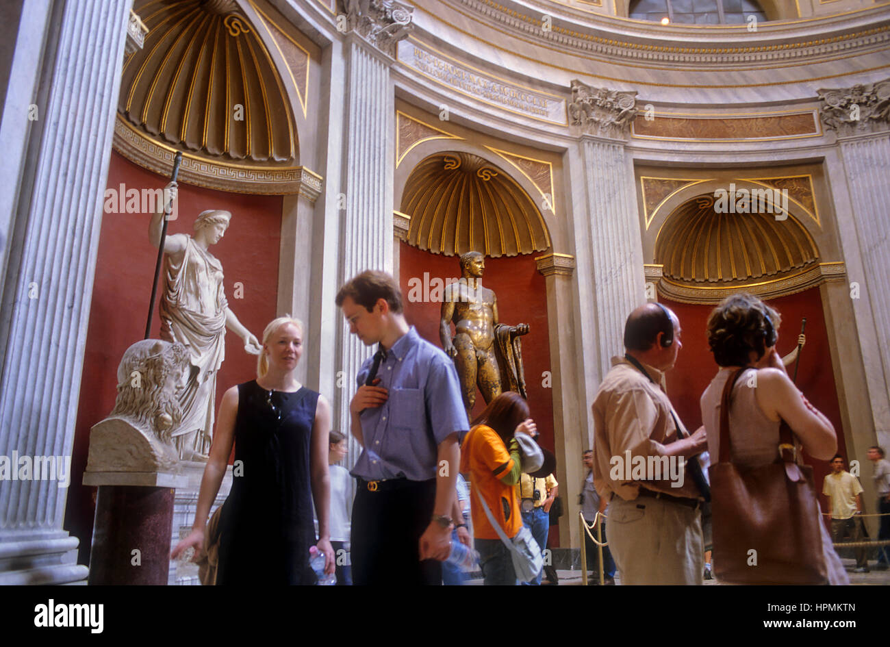Vatican Museums, The Vatican,Rome, Italy Stock Photo