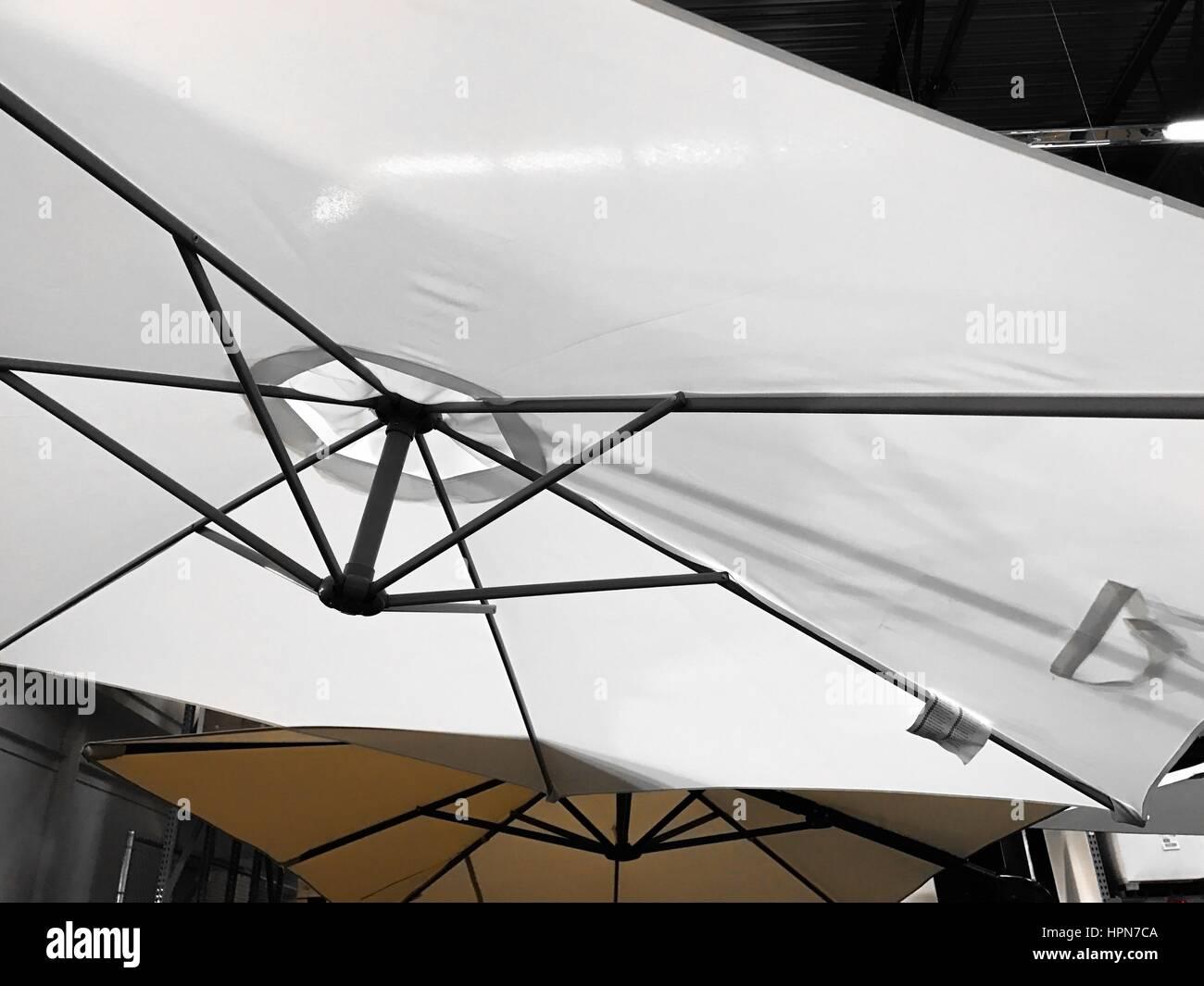 Parasols Stock Photo