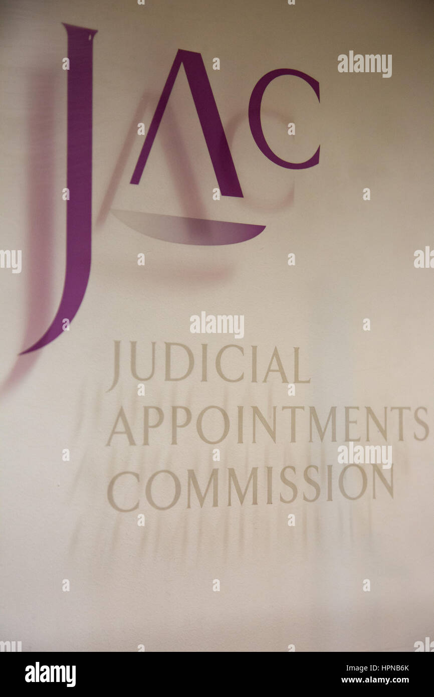 Judical Appointsments Commission (JAC) office, housed in the Ministry of Justice, Petty France, London - Stock Image