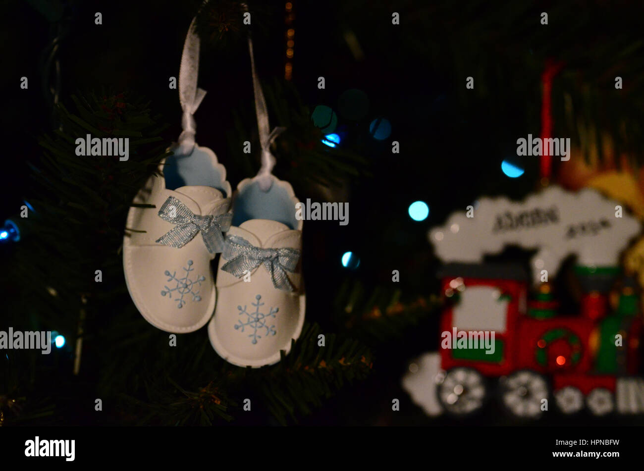 newborn ornament - Stock Image