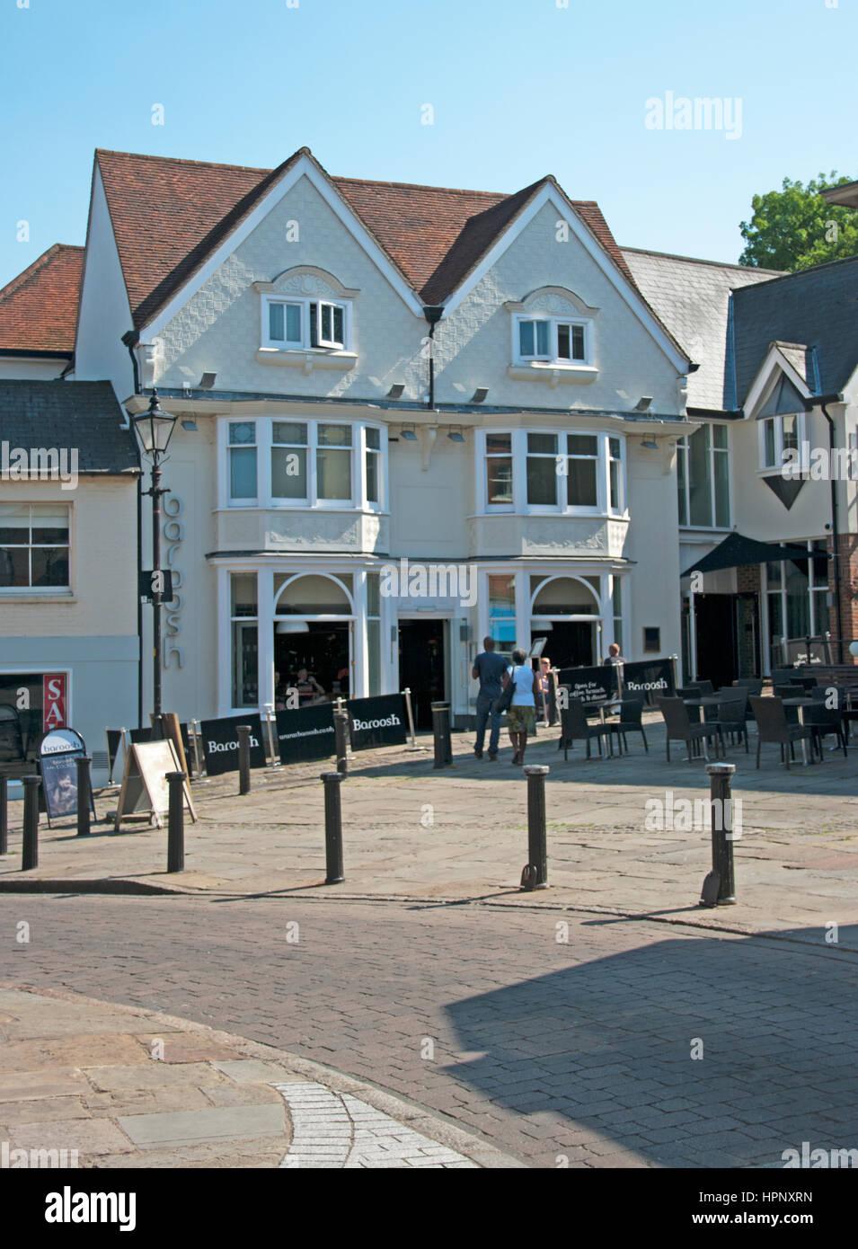 Bishops Stortford Hertfordshire Stock Photo