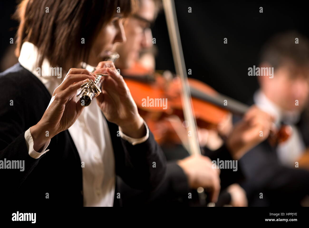 Flute Players Stock Photos & Flute Players Stock Images