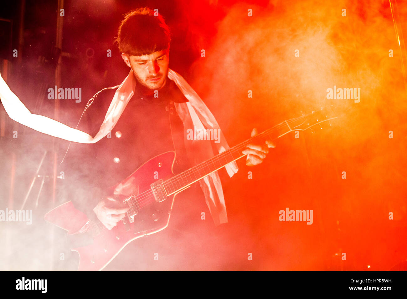 Black Lips Performing Live At Liverpool Sound City - Photo Credit: Michelle Roberts - Stock Image