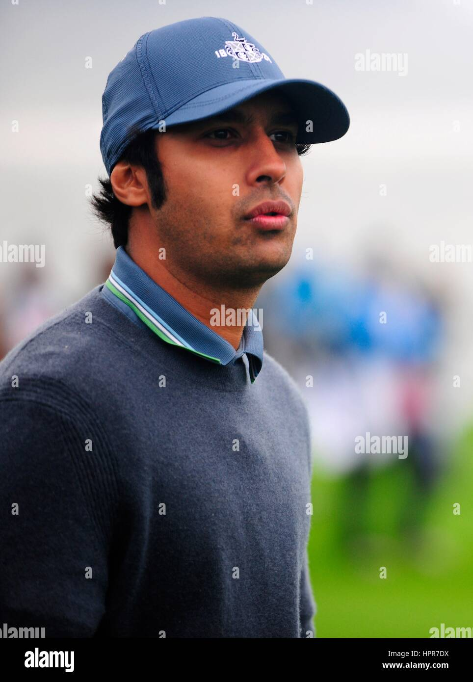Actor Kunal Nayyar during the AT&T Pebble Beach National Pro-Am golf tournament February 8, 2017 in Monterey, - Stock Image