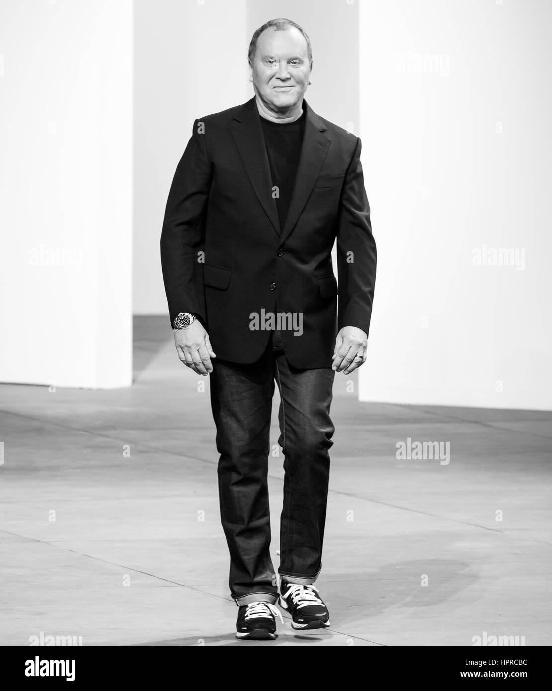 Michael Kors Designer | New York Ny February 14 2017 Designer Michael Kors Walks The