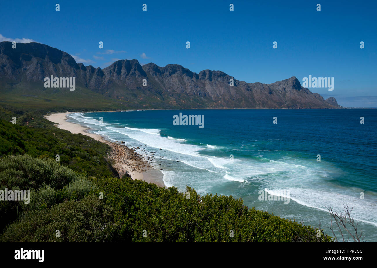 Dapper se Gat, Kogel Bay Beach, Garden Route,Cape Town,south Africa - Stock Image