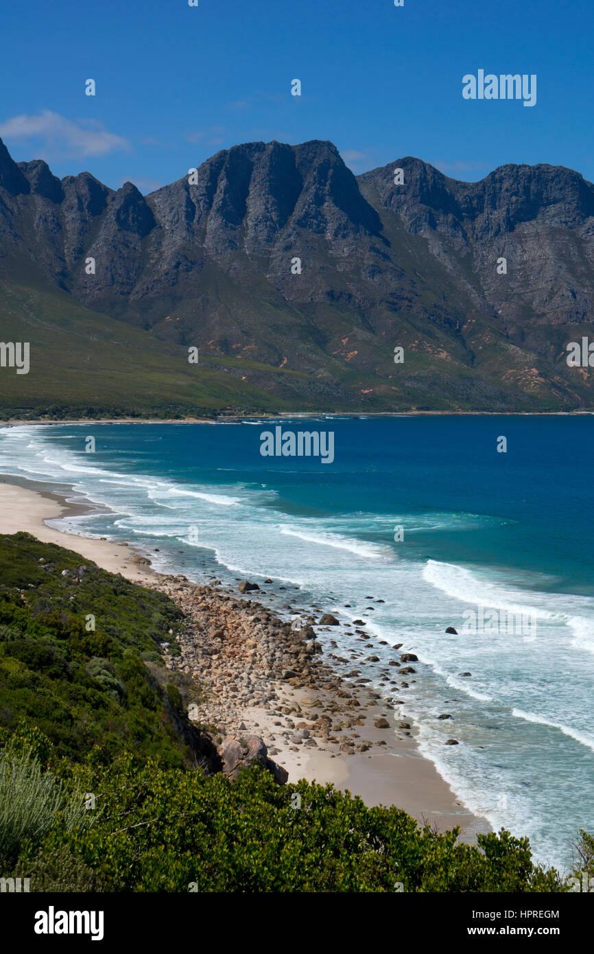 Dapper se Gat, Kogel Bay Beach, Garden Route,Cape Town,south Africa - Stock Image